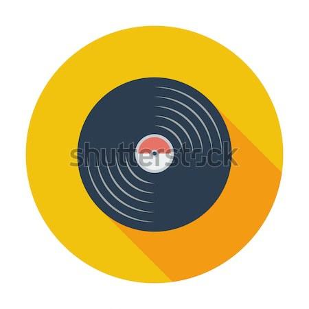 Record icon. Stock photo © smoki