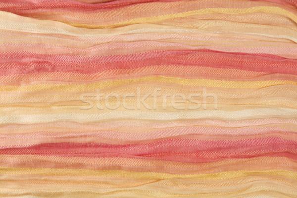 Algodão tecido abstrato quadro completo com renda Foto stock © smoki