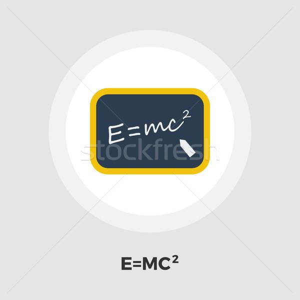 Physik Symbol Vektor isoliert weiß editierbar Stock foto © smoki