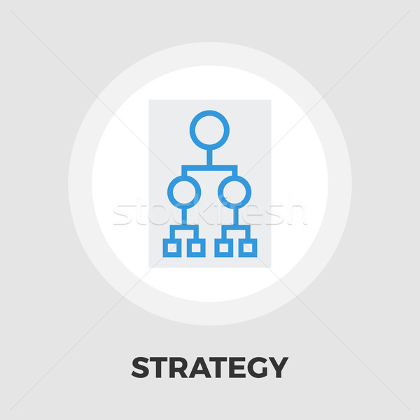 Flowchart icon flat Stock photo © smoki