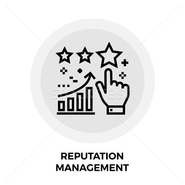 Reputation Management Line Icon Stock photo © smoki