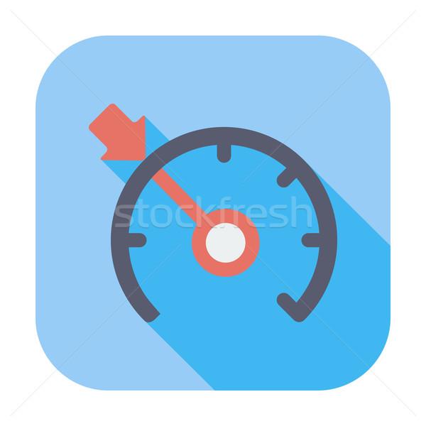 Crociera controllo colore icona nero macchina Foto d'archivio © smoki