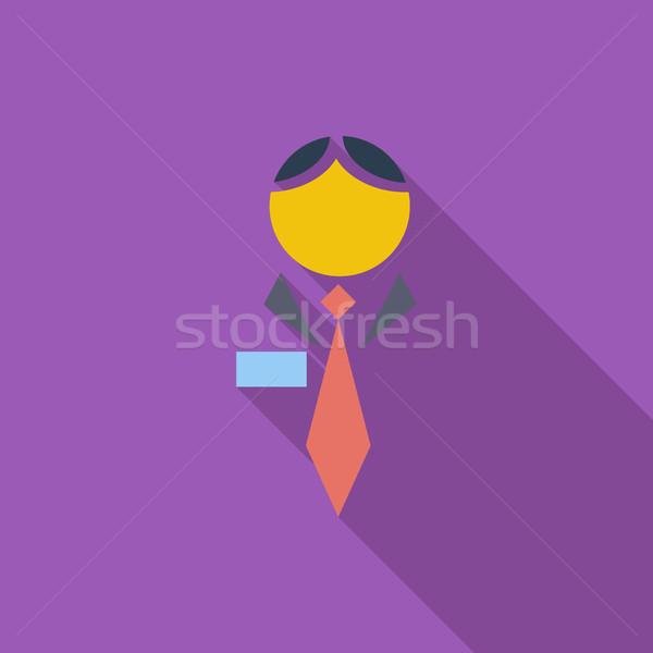 Human icon. Stock photo © smoki