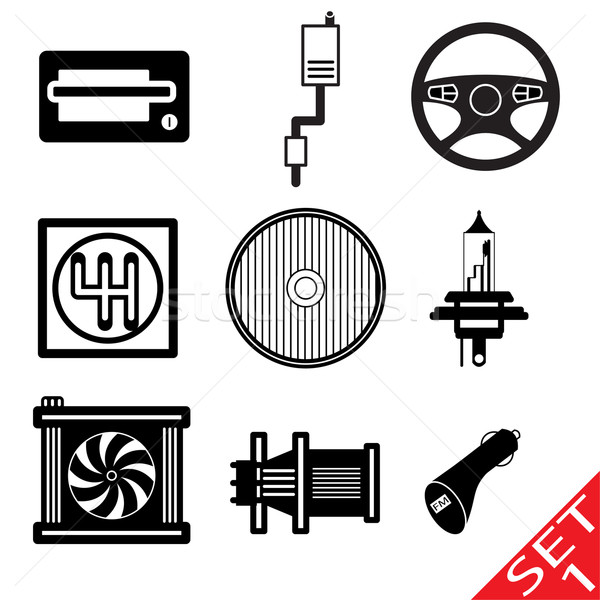 Car Parts Stock photo © smoki