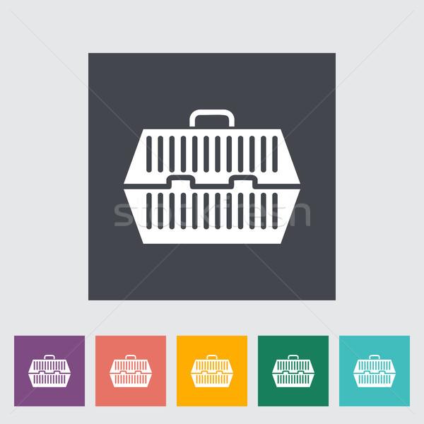 Pet carrier icon Stock photo © smoki
