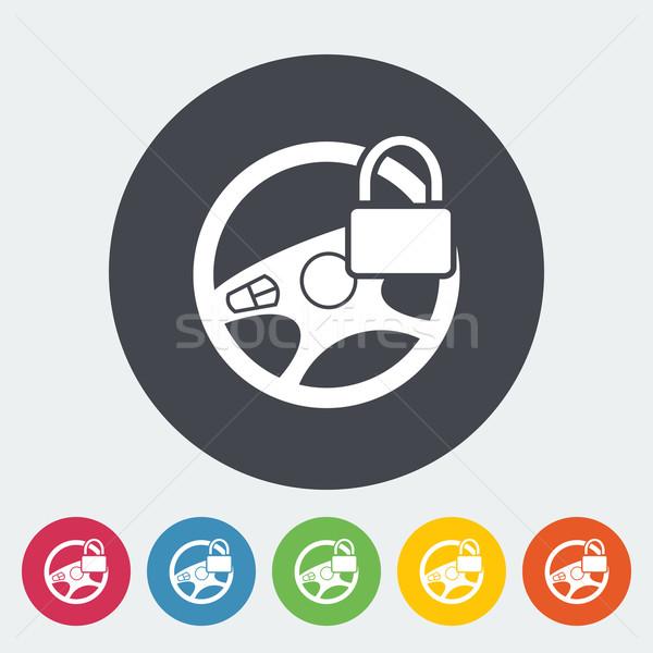 車 ハンドル アイコン サークル デザイン 技術 ストックフォト © smoki