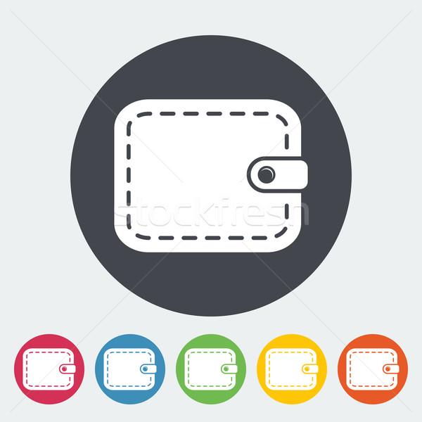 財布 アイコン サークル お金 ショッピング にログイン ストックフォト © smoki