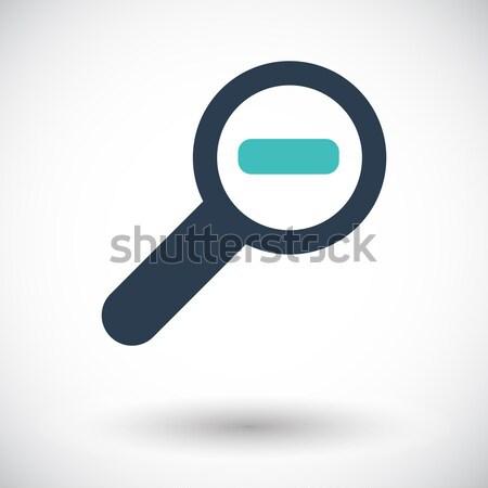 Scale single icon. Stock photo © smoki