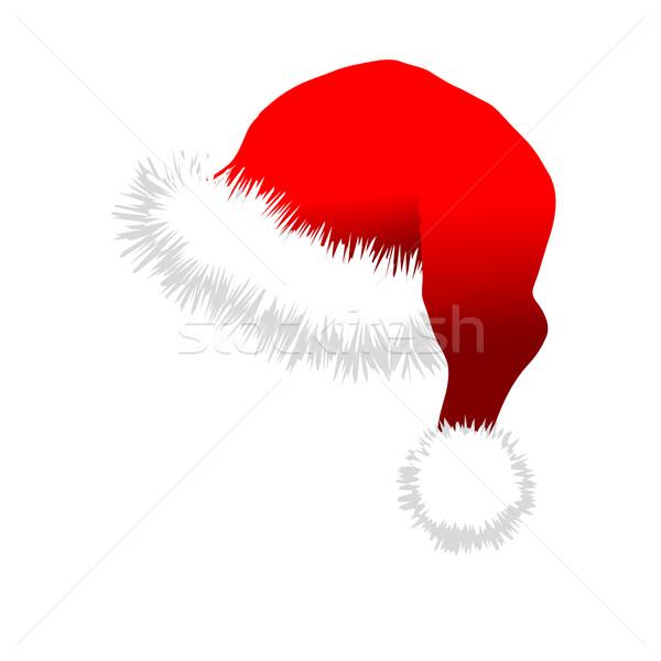 Red Santa Claus Hat Stock photo © smoki