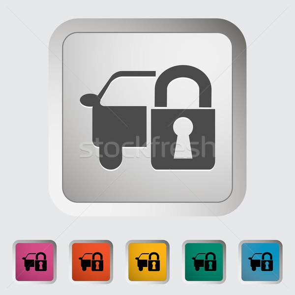 Locking car doors Stock photo © smoki
