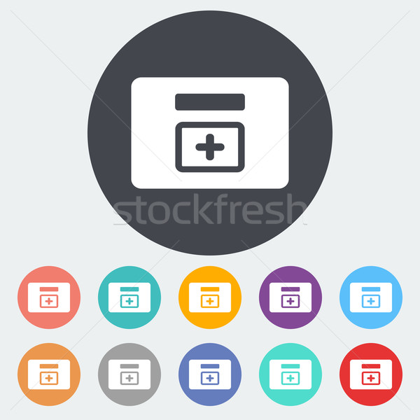First aid kits icon. Stock photo © smoki