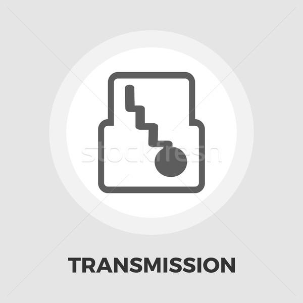 Automatyczny narzędzi ikona wektora odizolowany biały Zdjęcia stock © smoki