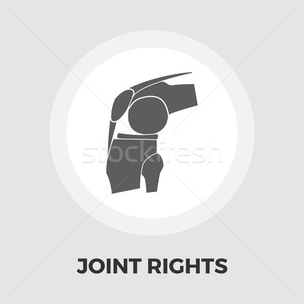 Joint flat icon Stock photo © smoki