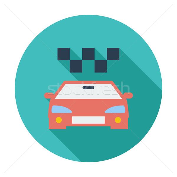Icon taxi Stock photo © smoki