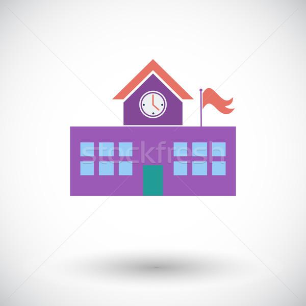 School building Stock photo © smoki