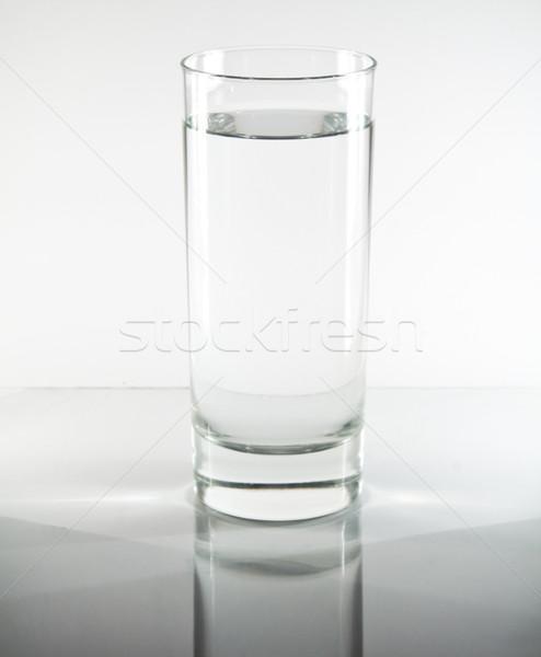 Glass of water Stock photo © smoki
