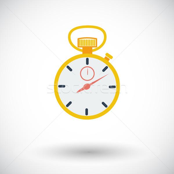 Stopwatch icon. Stock photo © smoki