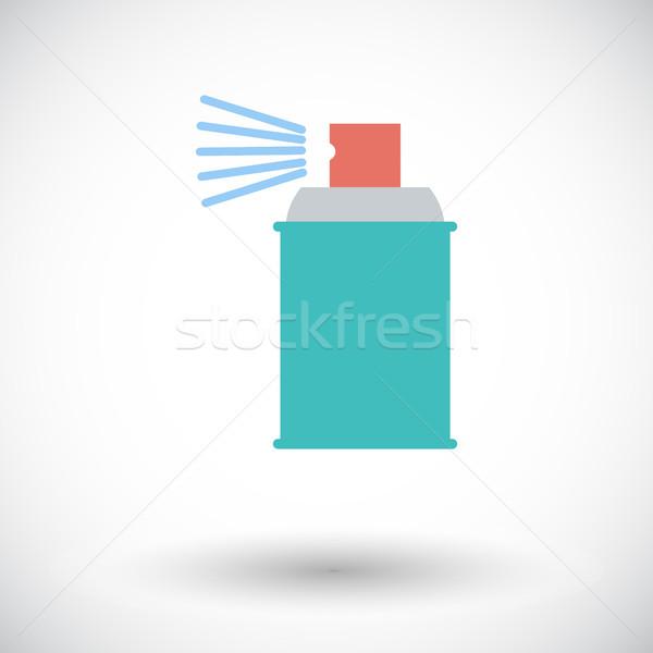 спрей химикалии икона белый искусства силуэта Сток-фото © smoki