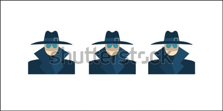 Anonymous Vector Icon Stock photo © smoki