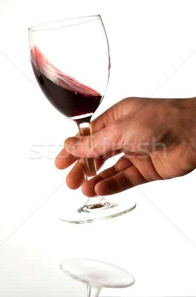 red wine degustation Stock photo © smoki