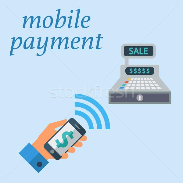 Mobile payment Stock photo © smoki