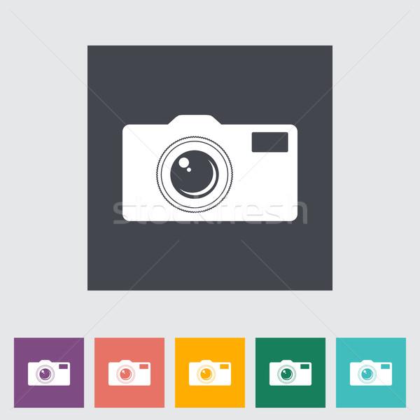 Icon camera. Stock photo © smoki