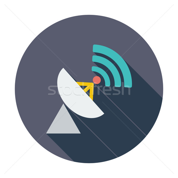 Satellite antenna Stock photo © smoki
