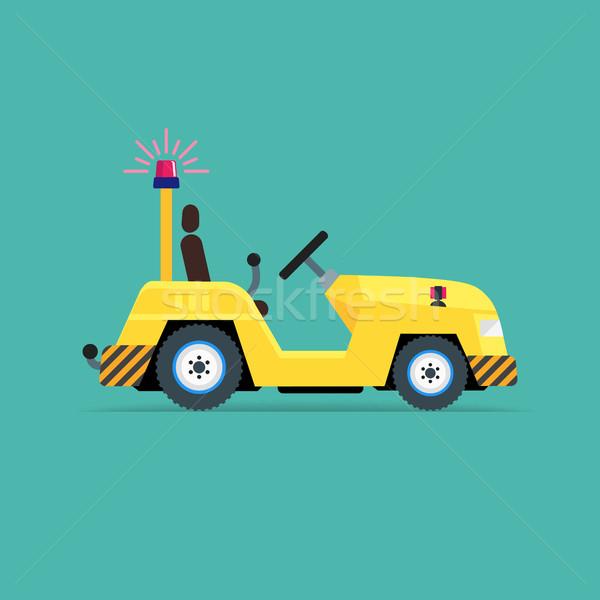 荷物 トラック アイコン にログイン 業界 空港 ストックフォト © smoki