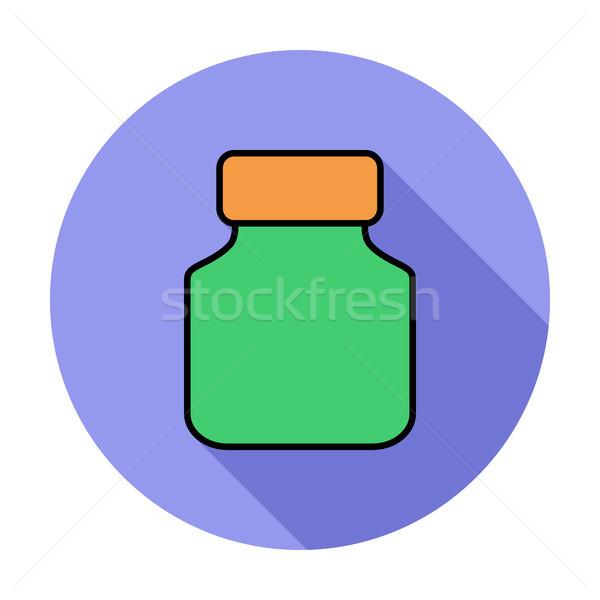 Jar icon. Stock photo © smoki