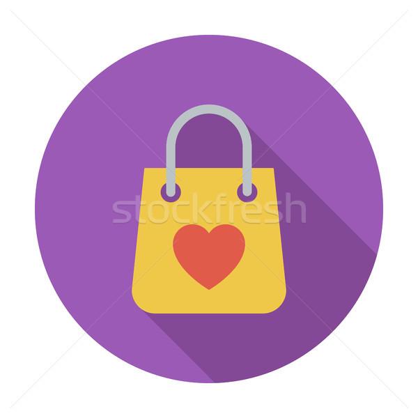сумку магазине икона мобильных веб применения Сток-фото © smoki