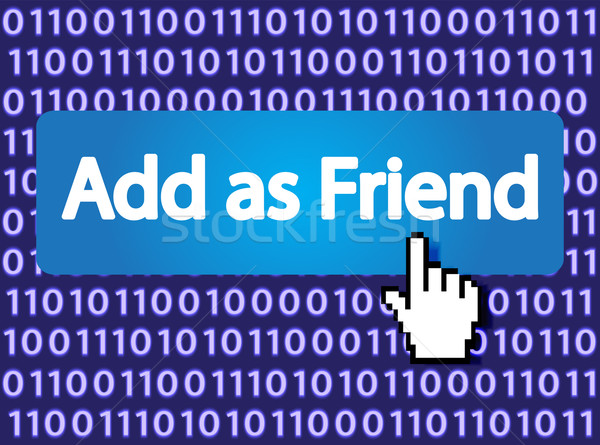Add as Friend Stock photo © smoki