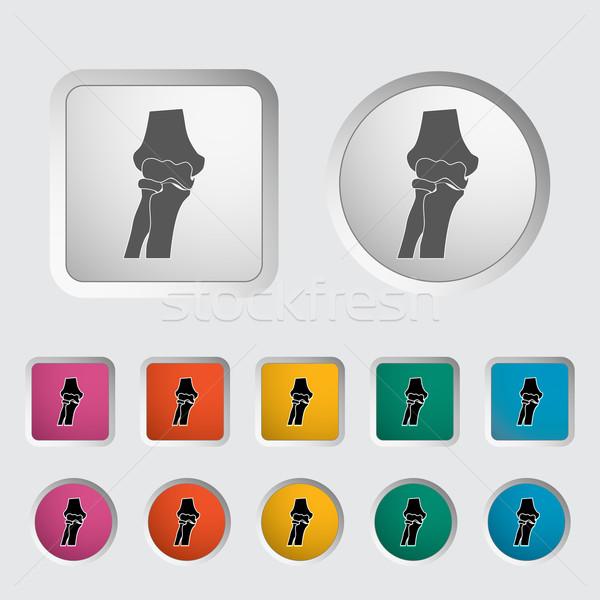 Knee-joint single icon. Stock photo © smoki