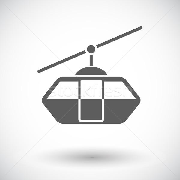 Funicular railway Stock photo © smoki