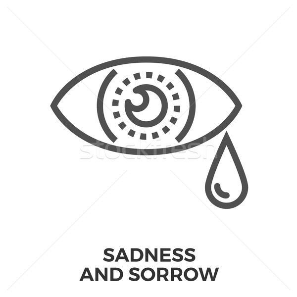Sadness and sorrow Stock photo © smoki