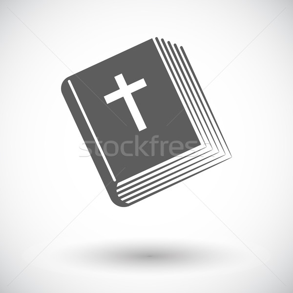 Сток-фото: Библии · икона · белый · бумаги · крест · искусства
