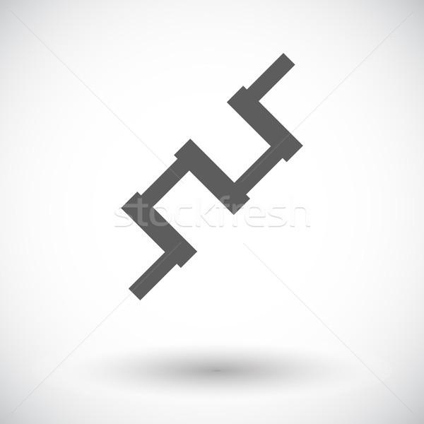 Crankshaft single icon. Stock photo © smoki