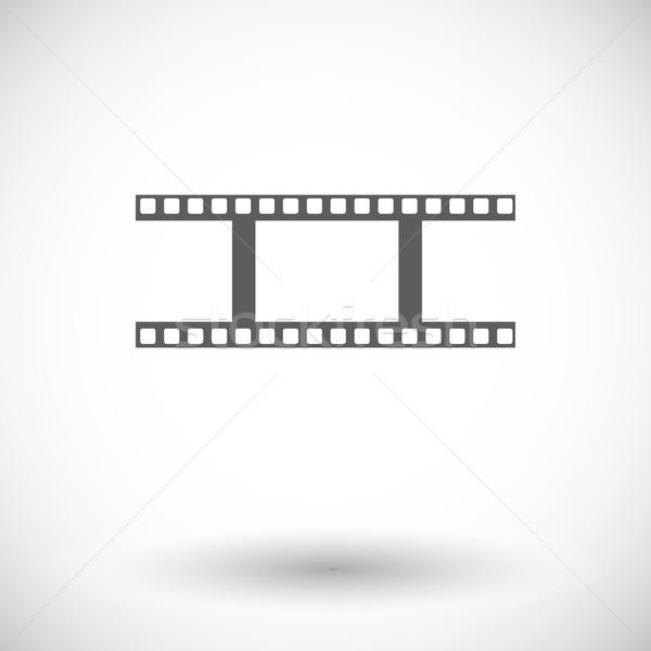 映画 アイコン 白 芸術 映画 ビデオ ストックフォト © smoki