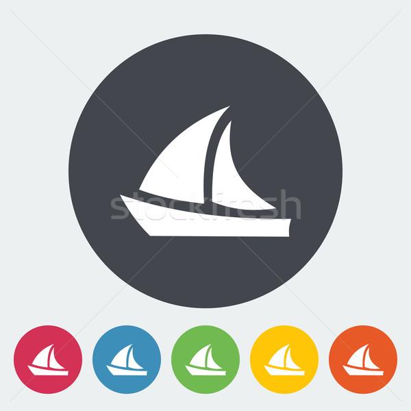 Stock photo: Yacht.