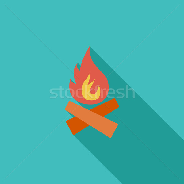 Bonfire Stock photo © smoki