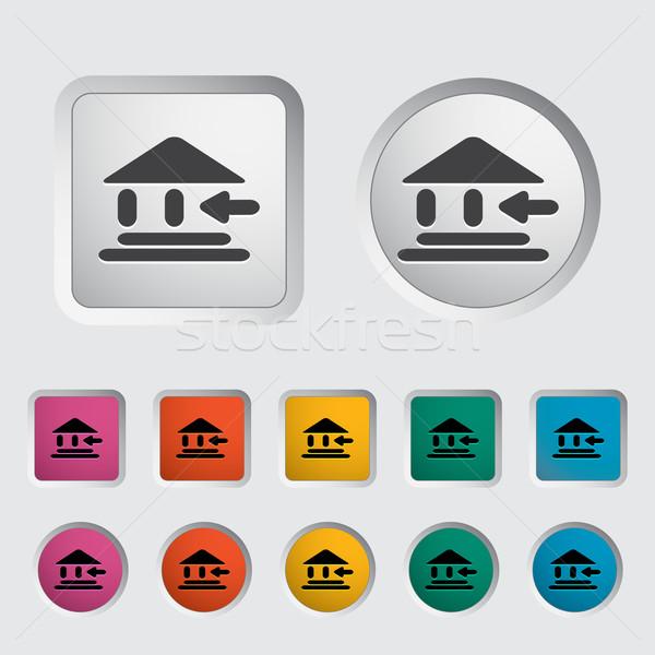 Entry single icon. Stock photo © smoki
