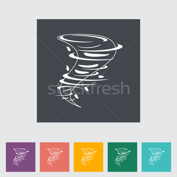 Tornado icon eps abstract ontwerp kunst Stockfoto © smoki