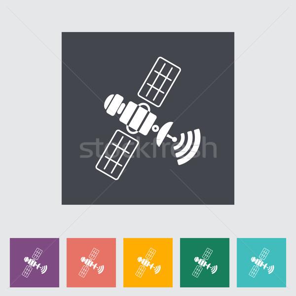 衛星 デザイン 技術 芸術 青 科学 ストックフォト © smoki