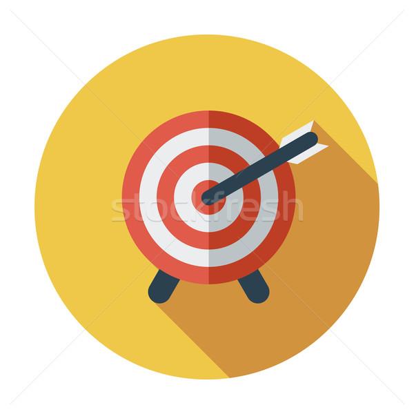 Target Dart colore icona sport arte Foto d'archivio © smoki
