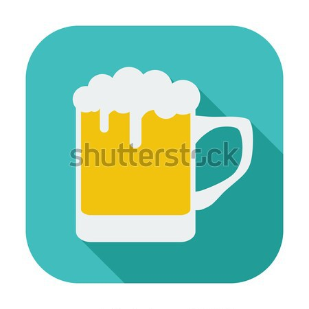 Beer icon Stock photo © smoki