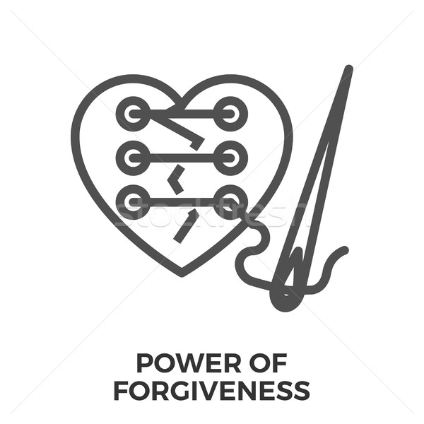 Power of forgiveness Stock photo © smoki