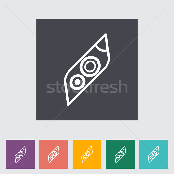 Icon Car Lights Stock photo © smoki