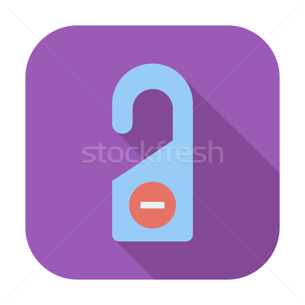 Stock photo: Door tag