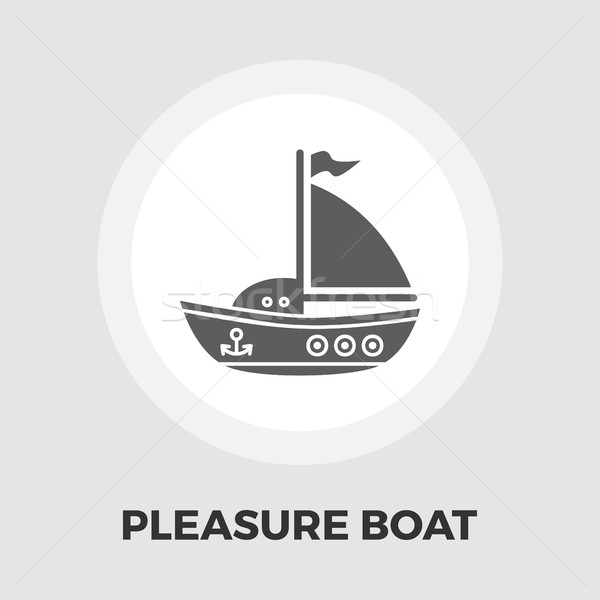 Pleasure Boat Icon Stock photo © smoki