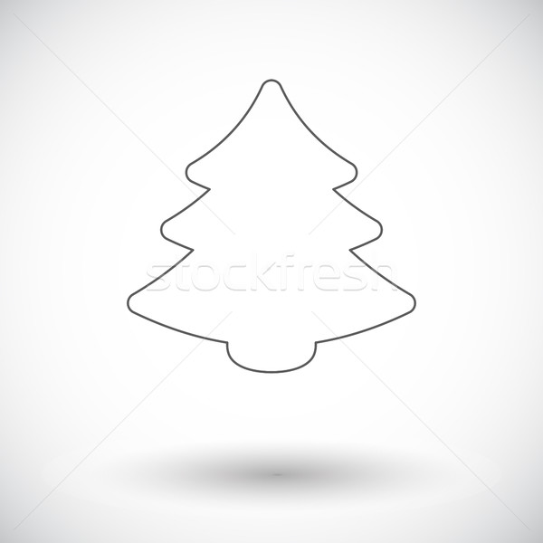 рождественская елка икона вектора веб мобильных применения Сток-фото © smoki
