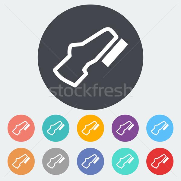 Stock photo: Adjustable pedal